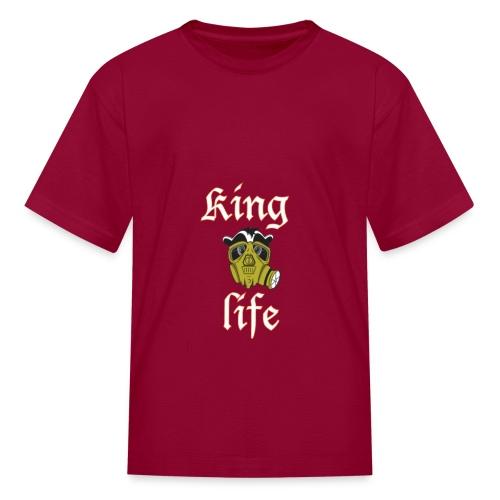 King manfan - Kids' T-Shirt