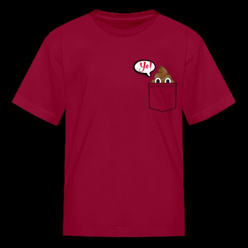 Pocket O Poop - Kids' T-Shirt