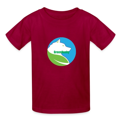 Greenhusky symbol - Kids' T-Shirt