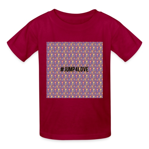 Jump4Love - Kids' T-Shirt