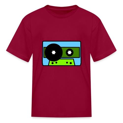 424 Recording Cassette Tape Logo T-Shirt - Kids' T-Shirt