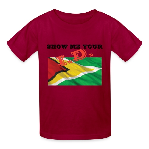 Show Me Your I D Guyana - Kids' T-Shirt