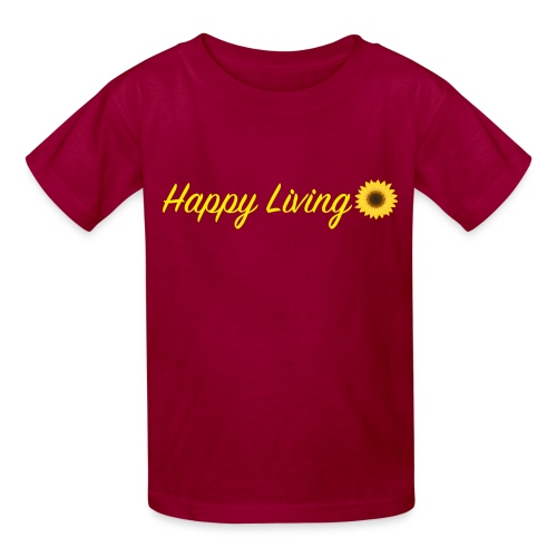 Happy Living - Kids' T-Shirt