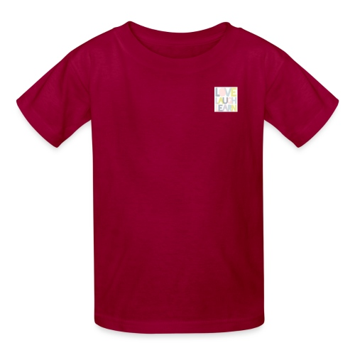 Love laugh learn - Kids' T-Shirt