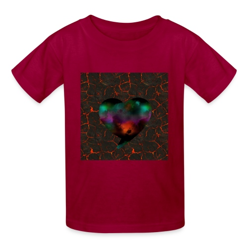 Heart of fire - Kids' T-Shirt