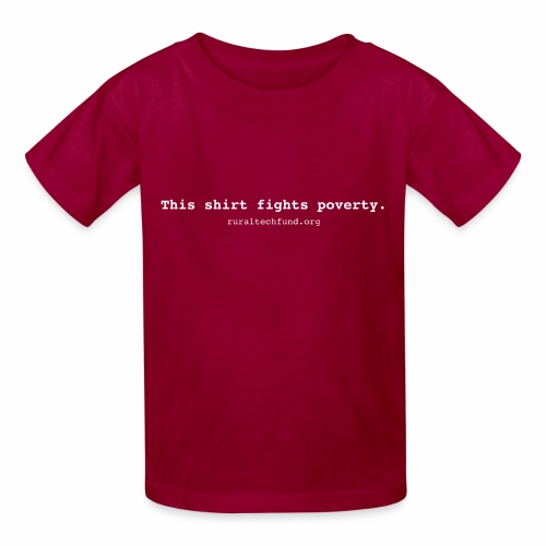 This Shirt Fights Poverty - Kids' T-Shirt
