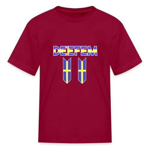 Deefem Swedish - Kids' T-Shirt