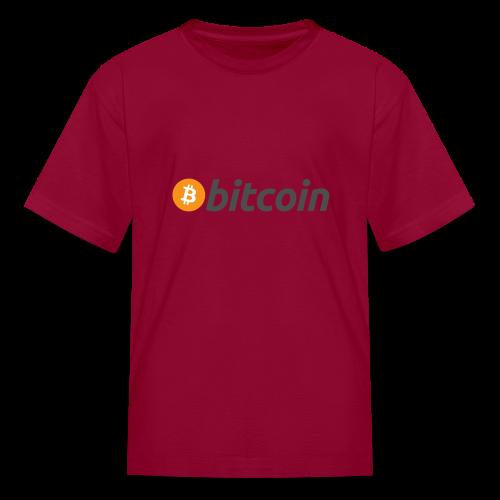 Bitcoin - Kids' T-Shirt