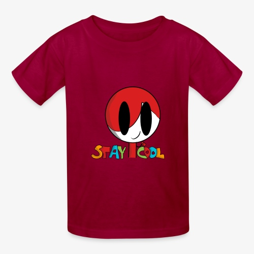 Stay Cool Kids Shirt by GamingKid3838 - Kids' T-Shirt
