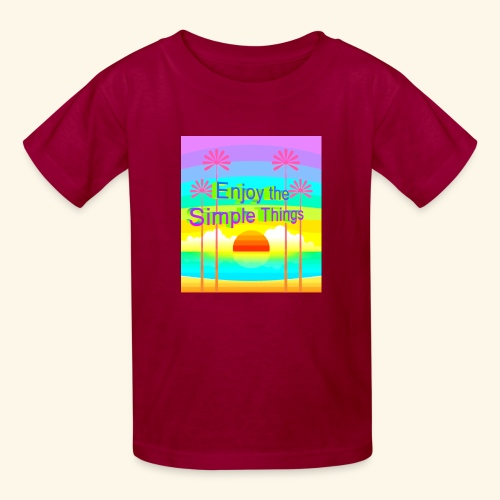 enjoy - Kids' T-Shirt
