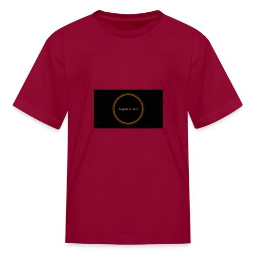 Solar Eclipse - Kids' T-Shirt