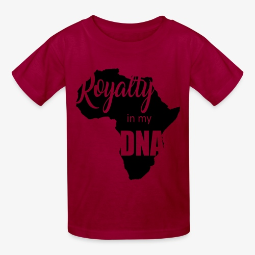 RoyaltyinmyDNA - Kids' T-Shirt
