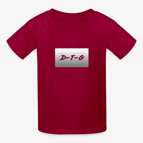 D-T-G White Design - Kids' T-Shirt
