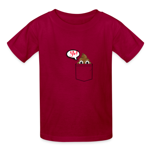 Pocket O Poop - Kids' T-Shirt
