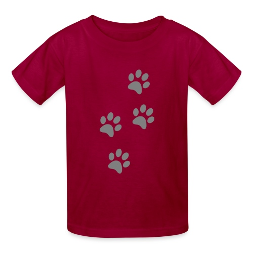 pawprints - Kids' T-Shirt