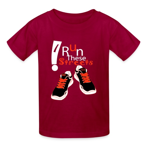 I RUN THESE STREETS - Kids' T-Shirt