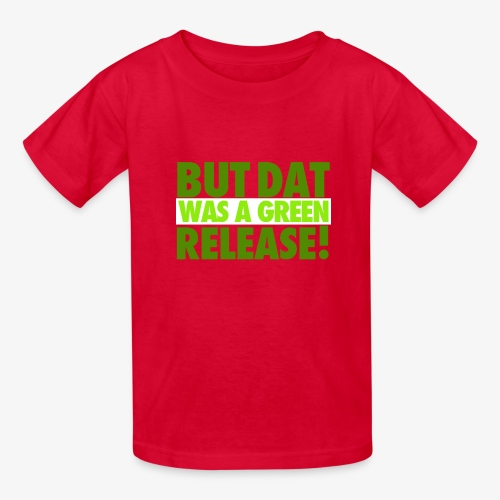butdatwas png - Kids' T-Shirt