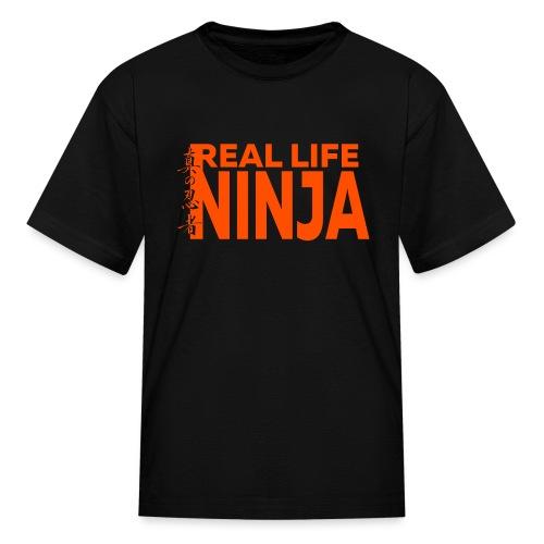 RLN Logo 2019 Orange - Kids' T-Shirt