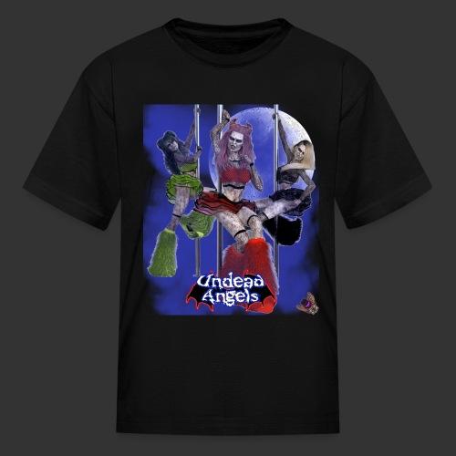 Undead Angels: Pole Dance Trio Full Moon - Kids' T-Shirt