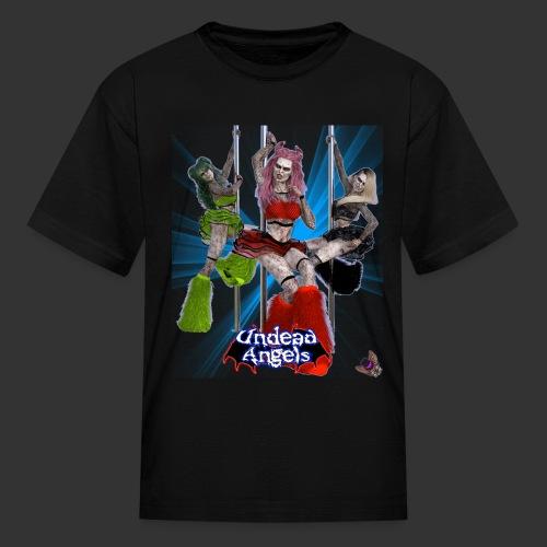 Undead Angels: Pole Dance Trio Spotlight - Kids' T-Shirt