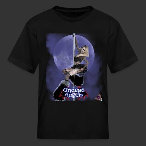 Undead Angels: Undead Dancer Onyx Full Moon - Kids' T-Shirt