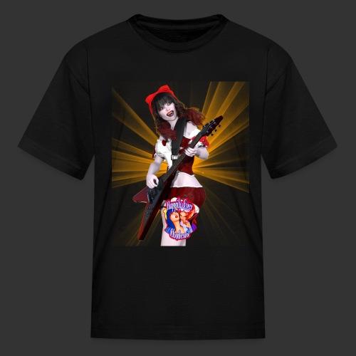 Happily Ever Undead: Crimson Snow Guitarist - Kids' T-Shirt