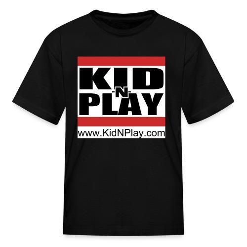 kidnplay3block - Kids' T-Shirt