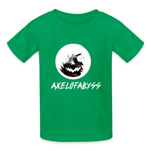 Axelofabyss Red with Nature - Kids' T-Shirt