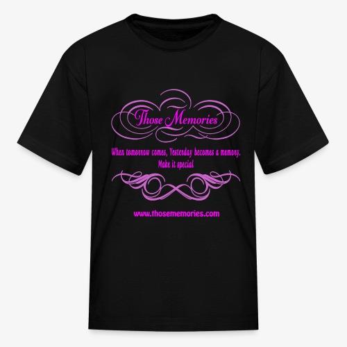 Those Memories logo - Kids' T-Shirt
