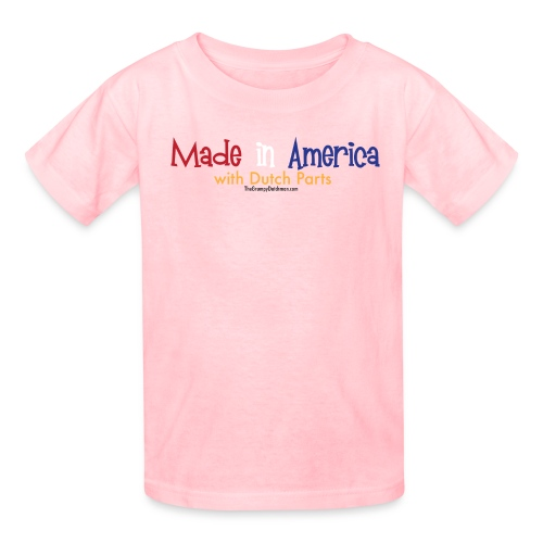 Dutch Parts colored lettering - Kids' T-Shirt