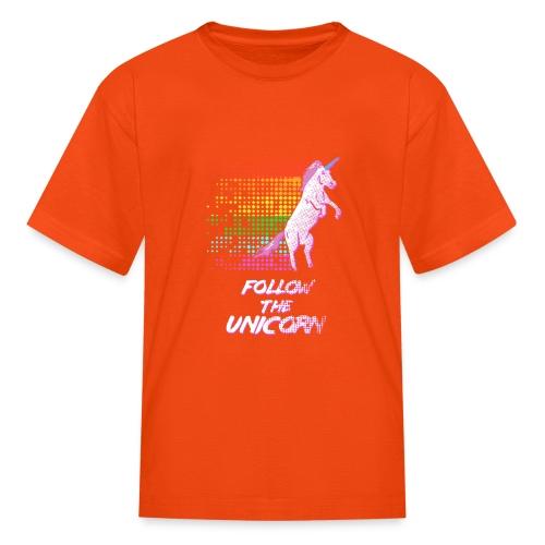 Follow The Unicorn - Kids' T-Shirt