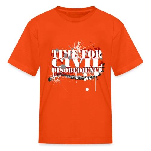 civil disobedience - Kids' T-Shirt