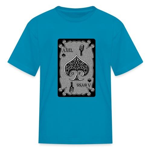 Axelofabyss Spade Card - Kids' T-Shirt
