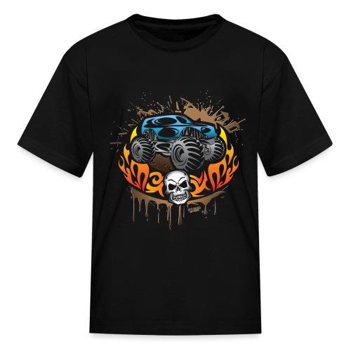 Monster Truck Shirt - Kids' T-Shirt