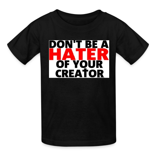 h8r shirt - Kids' T-Shirt