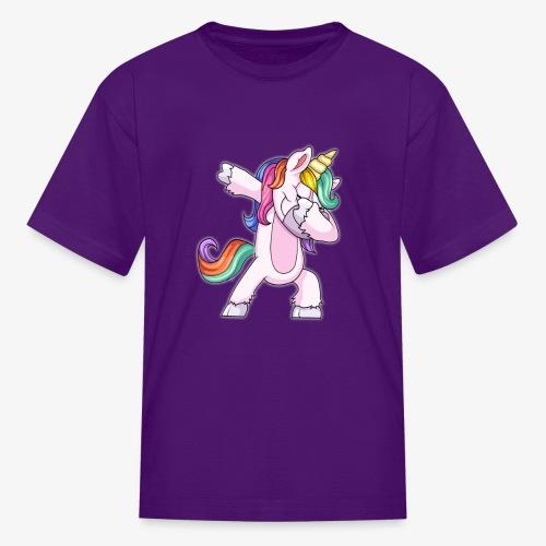 DABBING UNICORN Kid - Kids' T-Shirt