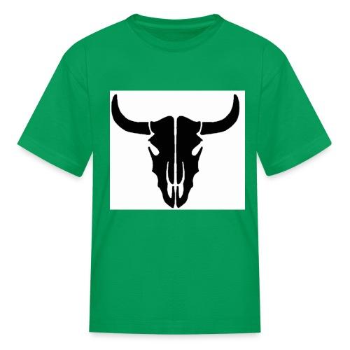 Longhorn skull - Kids' T-Shirt