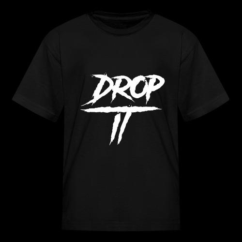 DROP IT Original Logo - Kids' T-Shirt
