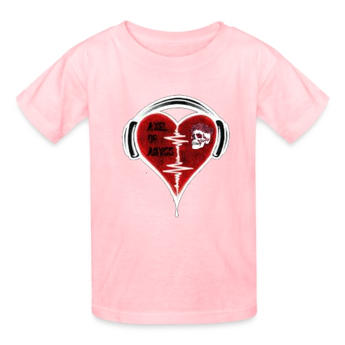 Axelofabyss Music in your heart - Kids' T-Shirt