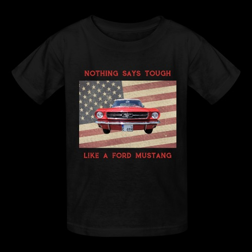 Mustang Tough - Kids' T-Shirt