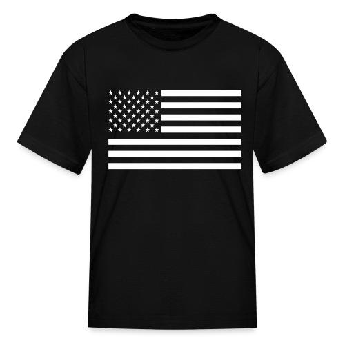 USA American Flag - Kids' T-Shirt