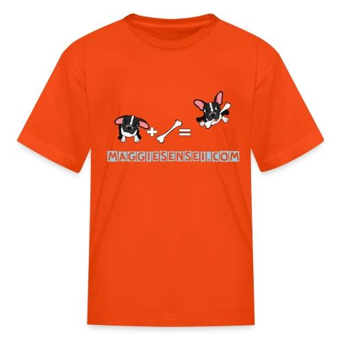 dogs blue 2 - Kids' T-Shirt