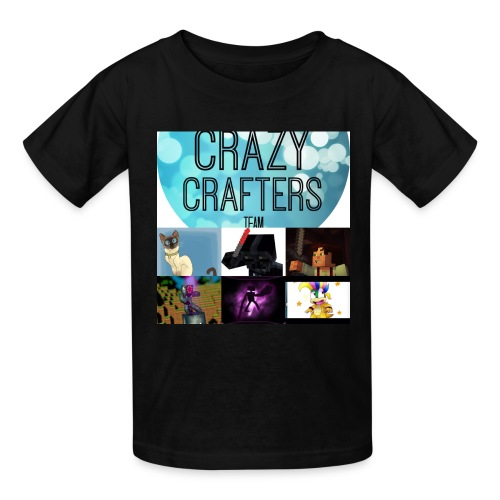 The crazy crafters - Kids' T-Shirt