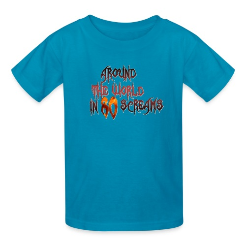 Around The World in 80 Screams - Kids' T-Shirt