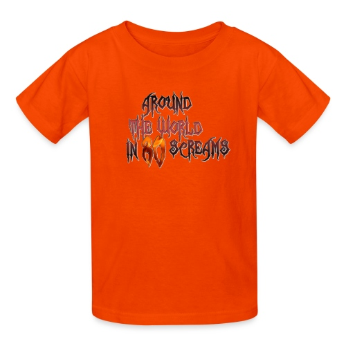 Around The World in 80 Screams - Kids' T-Shirt