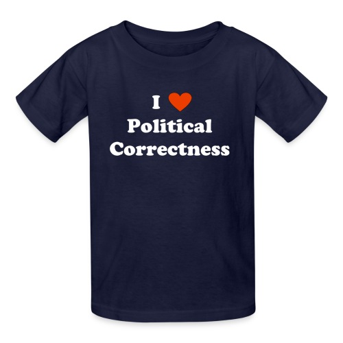 I Heart Political Correctness - Kids' T-Shirt