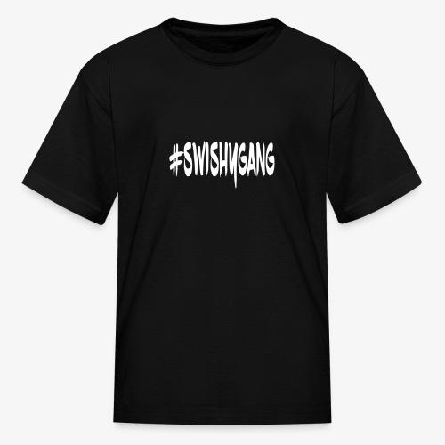 #SwishyGang - Kids' T-Shirt