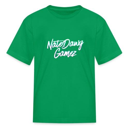 Newel Black Painted tp Nate- - Kids' T-Shirt