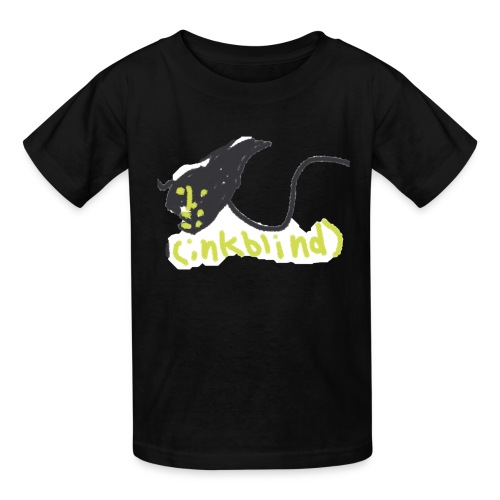 Kids funny monster ink - Kids' T-Shirt