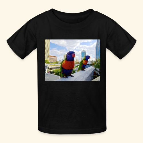 bird of color - Kids' T-Shirt